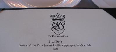 q club soup menu