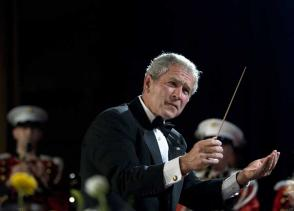george-bush conducts